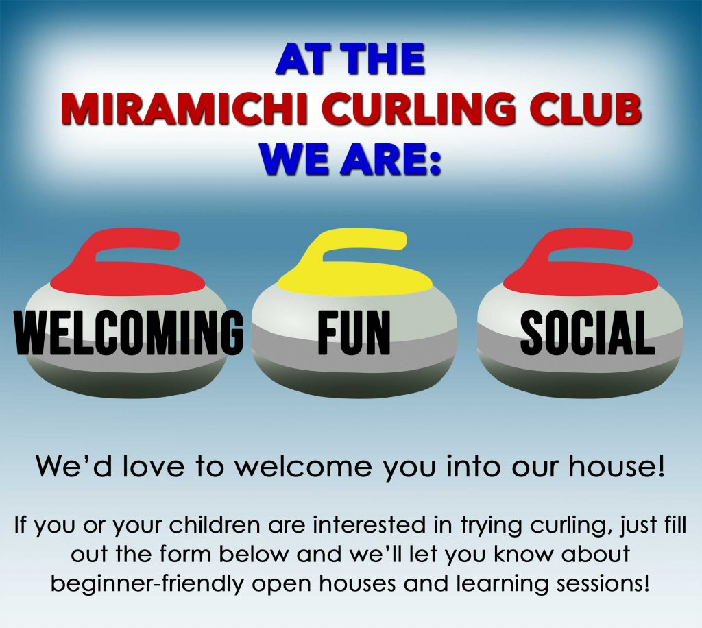 Miramichi Curling Club welcome